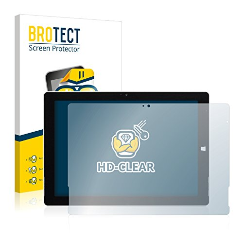 BROTECT Schutzfolie kompatibel mit Wortmann Terra Pad 1062 Pro (2 Stück) klare Bildschirmschutz-Folie