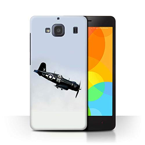 eSwish telefoonhoesje/Cover/Skin/XIA-CC/World War 2 Historic Aircraft Collection Xiaomi Redmi 2 F4U Corsair US Navy vliegtuig