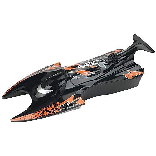 Moerc RC Boat, 2.4GHz Control remoto barco eléctrico para niños Modelo de juguete para piscinas y lagos 2.4GHz 10km / h Radio de alta velocidad Barco de carreras eléctrico para niños adultos niños niñ