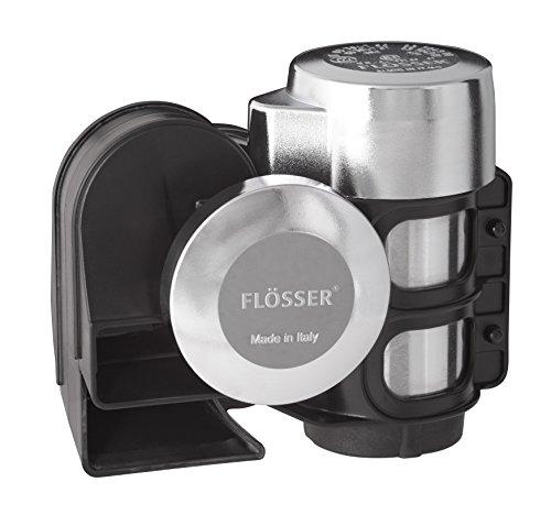 FLÖSSER 11690122 Kompressor Fanfare, Signalhorn, Chrom Ausführung