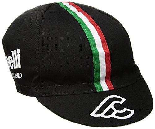 Cinelli - Cappellino da Ciclismo Unisex Il Grande, Tricolore, Taglia Unica