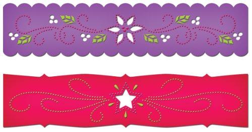 Spellbinders Borderabilities Petite Dies 5–1/2-inch, Pascua y Estrellas