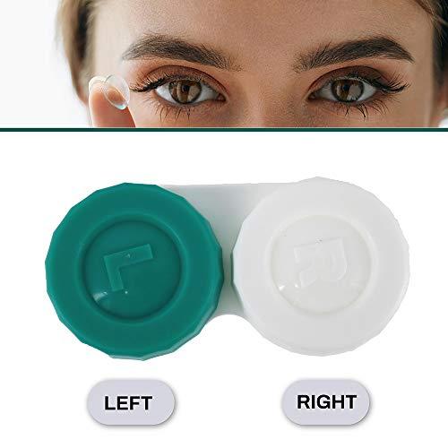 Sports Vision's Kontaktlinsenbehälter – Flach Design CE-gekennzeichnet und FDA-zugelassen 10 Stück - 5