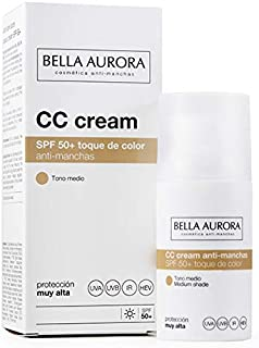 Bella Aurora Crema Facial SPF 50+ Anti-Manchas - 30 ml