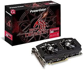 PowerColor AMD Radeon RED Dragon RX 580 8GB GDDR5 1 x DL DVI-D / 1 x HDMI / 3 x DisplayPort Graphics Card (AXRX 580 8GBD5-3DHDV2/OC )