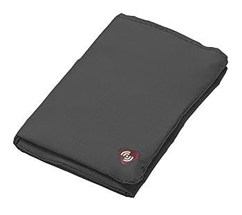 Lewis N Clark Featherlight RFID Tri-fold Wallet Gray One Size