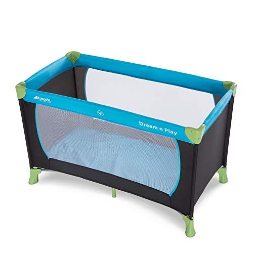 Hauck Kinderreisebett Dream N Play / inklusive Einlageboden und Tasche / 120 x 60cm / ab Geburt / tragbar und faltbar, Wasser (Blau) - 11