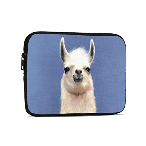 Scarf Llama Tablet Bag Lightweight Laptop Bag Tablet Sleeve Case for Ipad 7.9 Inch,