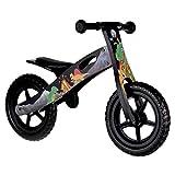 Nicko Dinosaur Children's Kids Wooden Training Balance Bike NIC872