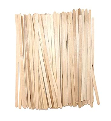 Coffee Stirrer Sticks, Made From Birch Wood, Eco-Friendly Wood Stirrers, 7.5 Inches Long, Smooth with Round Ends, Natural Color, 1,000/Box