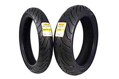 Pirelli Angel ST Front & Rear Street Sport Touring Motorcycle Tires (1x Front 120/70ZR17 1x Rear 160/60ZR17)