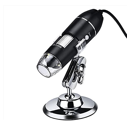 1600x USB Digital Microscope Camera 8LEDs Magnifier with Metal Stand