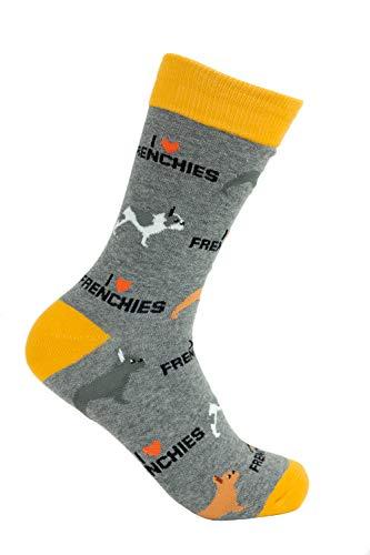 French Bulldog'Frenchie' Socks - Comfy Adult Socks for Men & Women