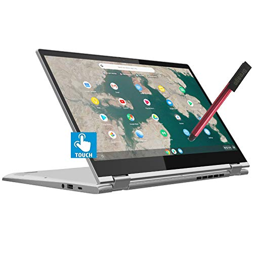 "Lenovo Chromebook C340 15 2-in-1 15.6"" FHD Touchscreen Laptop Computer_ Intel Pentium Gold 4417U 2.3GHz_ 4GB DDR4 RAM, 32GB eMMC_ USB-C_ Webcam_ Chrome OS_ BROAGE 64GB Flash Stylus_ Online Class Ready"