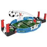 Wosiky Mini Gioco da Tavolo Desktop di Calcio, Giochi di Calcio Desktop Mix di Flipper e Kicker con Palline Giochi Arcade Classici Gioco di Giochi Famiglia Festa Giocattolo