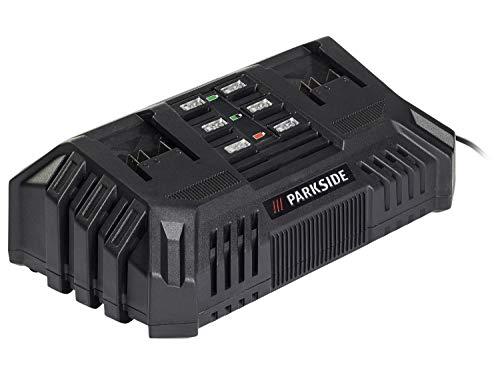 Doppel- Batterie Schnellladegerät PDSLG 20 A1 (Parkside X20V Team)