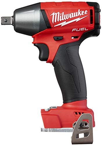 Milwaukee 2755-22 M18 FUEL 1/2-Inch Compact Impact Wrench with Pin Detent Kit