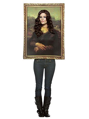 Rasta Imposta Déguisement Tableau La Joconde (Mona Lisa) - Taille Unique