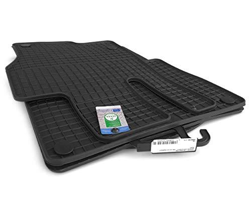 kh Teile Gummimatten ML W166, GL GLS GLE X166 Allwetter Gummi Fußmatten, Original Qualität, 4-teilig Passgenau