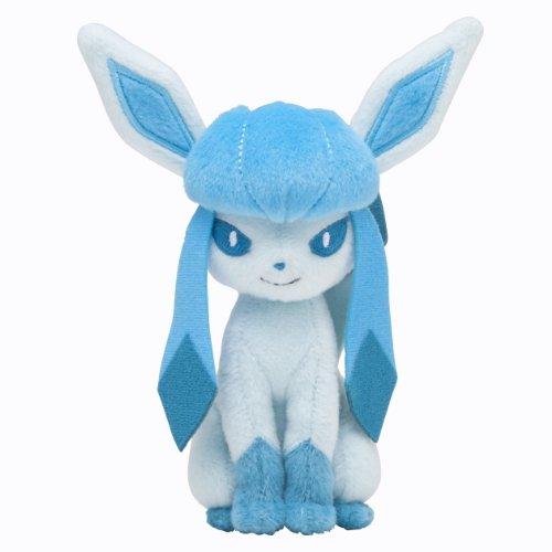 Pokemon Center Plush Toy Original Sit pose Glacier (japan import)