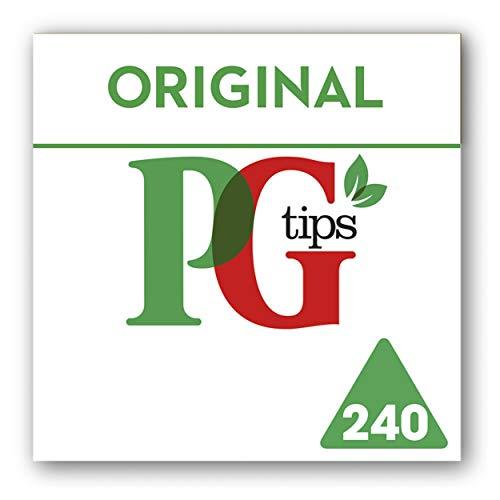 PG Tips Original Schwarzer Tee, 4er Pack (4 x 240 Teebeutel)