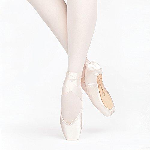 Russian Pointe Encore Pointe Shoes, U-Cut Flexible Medium Shank - Size 41,...