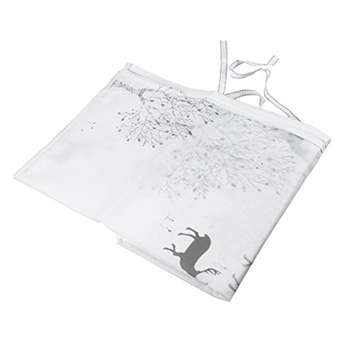 LIOOBO Waschmaschine Abdeckung Hirsch Muster Wasserdicht Staubdicht Deckel für Waschmaschine Frontlader Trockner 60x56x83cm