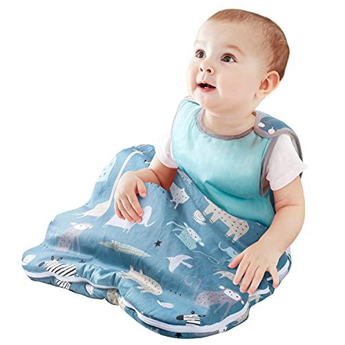 Viedouce Saco de Dormir para Bebé,Saco de Dormir de Algodón Bio para Bebés,Súper Suave,Longitud...