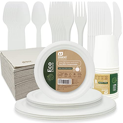 Vasos Desechables Biodegradables Marca Eco Natural