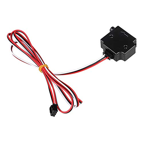 MagiDeal Módulo de Sensor Detección de Filamento Impresora 3D Run Pause Switch DIY - Negro, 1.75mm