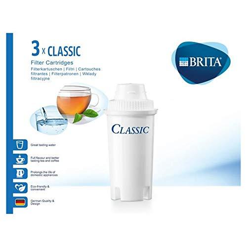 Brita CLASSIC, Pack 3 - Wasserfilter (Pack 3)