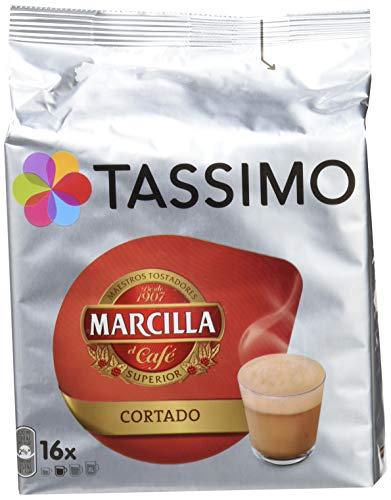 Tassimo Café Marcilla Cortado, 16 Cápsulas