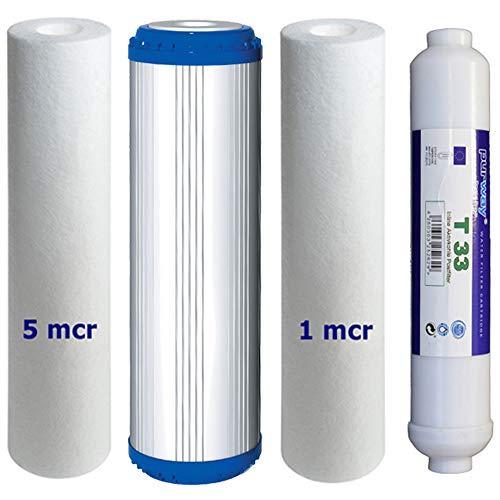 Osmosi Filtro di set completo ricambio per PUR Booster Quick 7