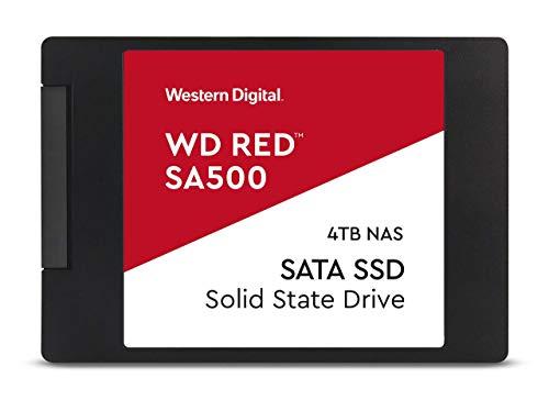WD Cssd Red 4TB 2.5 SATA Interno Rojo Unidad de Disco óptico ⭐