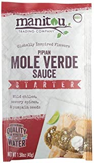 Pipian Mole Verde Sauce Starter, 8/1.58 Ounce Pouch Case