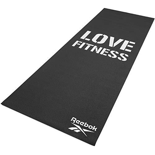 Reebok Fitnessmatte, Liebe, schwarz