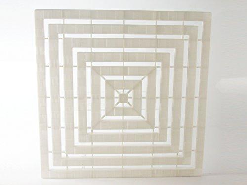 Giganplast Gps575060 doucheplank, wit, 60 x 60 cm