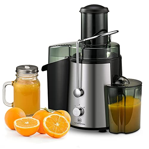 Centrifugal Juicer Ultra 800W Power, 1829 CARL SCHMIDT SOHN Juicer Machine for Vegetable & Fruit, Juice Extractor, Juicing Machine, 3-inch Wide Feed Chute, Easy to Clean, Anti-drip, BPA Free