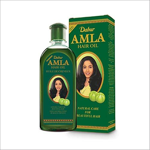 Aceite para el cabello Dabur Amla para el crecimiento natural del cabello y cabello sedoso 200ml