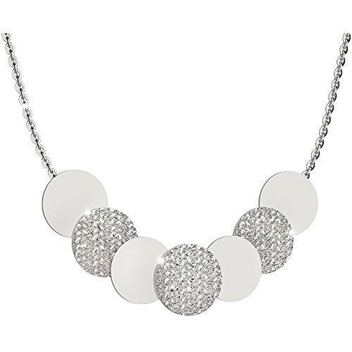 Rebecca collar r-cero bronce llantas lisas y martillado BRZKBB39