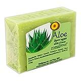 Jabonería Aloe Vera - jabones elaborados en frío - No contienen colorantes, conservantes químicos, tensioactivos y parabenos - 100% natural