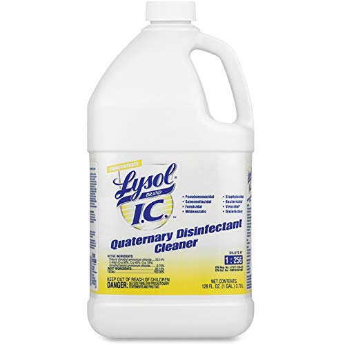 Lysol - 74983CT Professional IC Quaternary Disinfectant Cleaner Concentrate, 4gal (4X1gal)