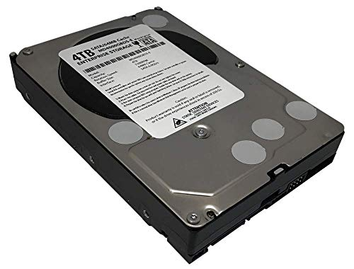 MaxDigital 4TB 7200RPM 64MB Cache SATA 6.0Gb/s (Enterprise Storage) 3.5inch Internal Hard Drive (Renewed)