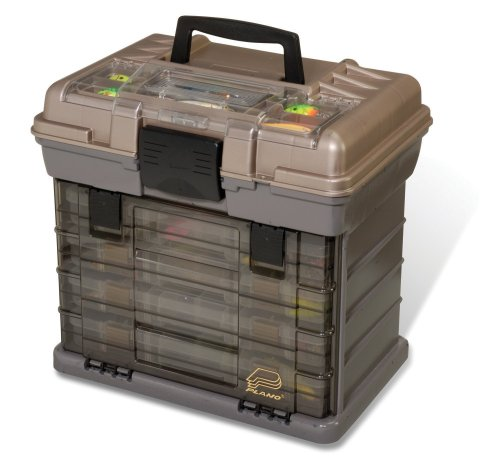 Plano 1374 4-by Rack System 3700 Tackle Box