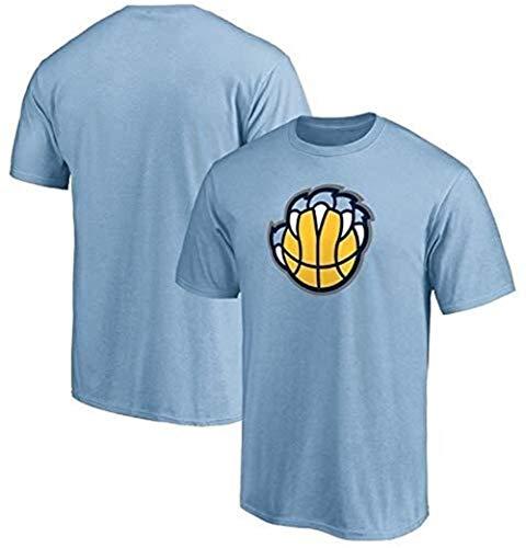 ZSPSHOP Camiseta de manga corta con cuello redondo de verano de la NBA No.23 de la NBA, color azul, talla XXXL