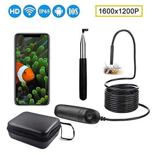1200P Telescopische wifi-endoscoopinspectie IP68 waterdicht 2,0 MP wifi semi-automatische periscoop met 8 leds voor iOS en Android