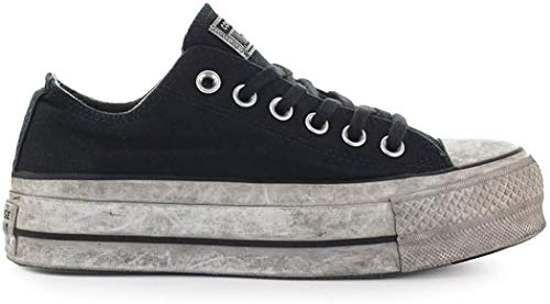 Converse Sneakers Ctas Ox Lift Canvas Ltd Black Smoke in 564528C (37 - Nero)