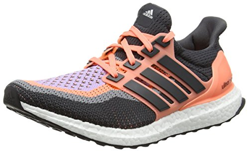 adidas Damen Ultra Boost Laufschuhe, Orange (Sun Glow/DGH Solid Grey/Purple Glow), 36 EU