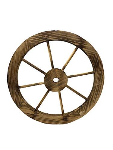 ruedas de carro de madera