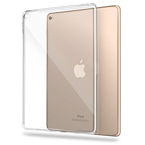 Asgens iPad Hülle, Transparent Schlank Silikon-weicher TPU Tablet-Computer-Fall Klar (für iPad Air 2 9,7 Zoll)